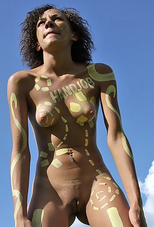 Naked Girls Body Paint Porn Pictures